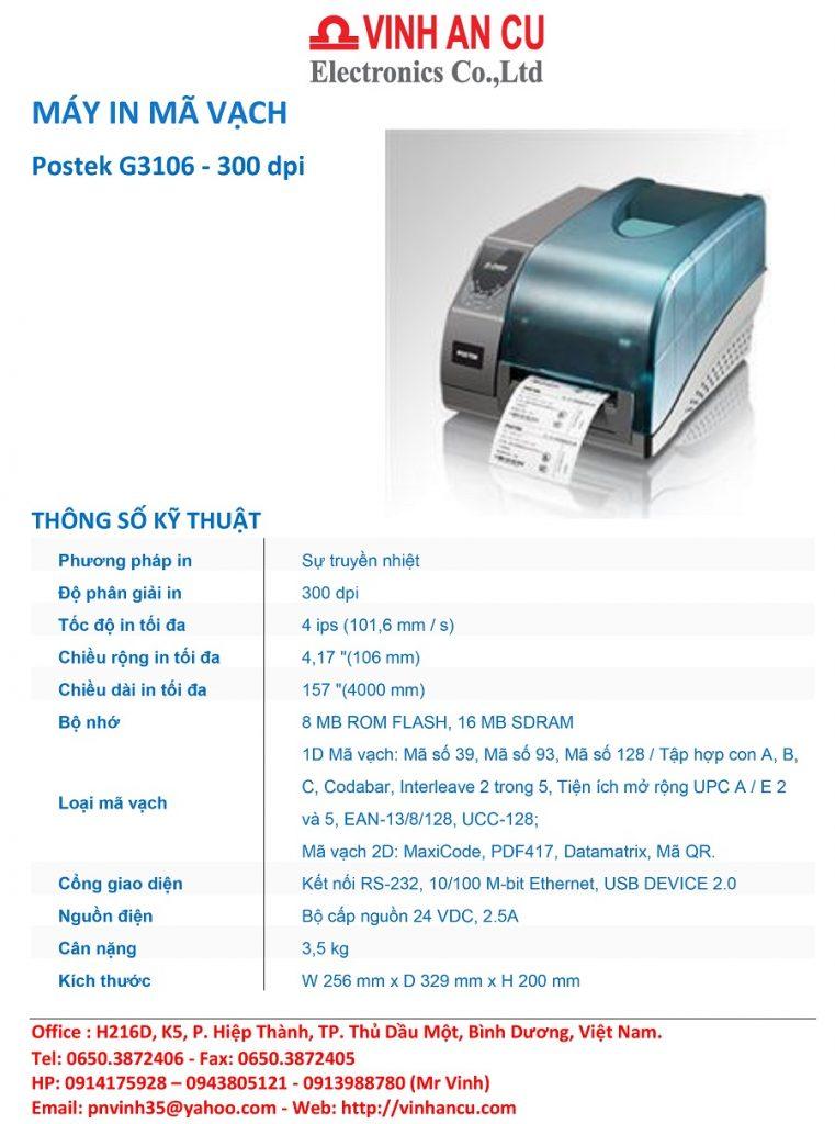 Mua Postek G 3106 300 DPI giá tốt nhất 2018